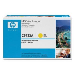 HP Toner LaserJet Amarillo 641A C9722A