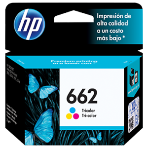 Tinta HP 662 CZ104AL