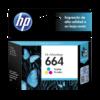 HP Tinta 664 Tricolor Advantage F6V28AL