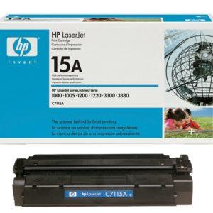 HP Toner 15A Negro C7115A