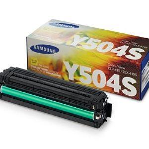 Samsung Toner CLT-Y504S Amarillo