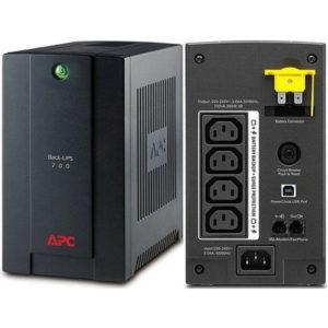 APC UPS Back UPS 700VA 230V AVR IEC BX700UI