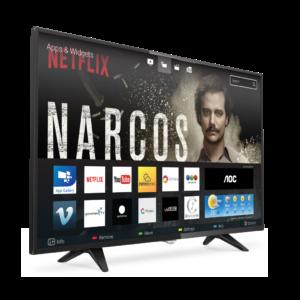 AOC Televisor LED 43 Full HD Smart TV LE43S5970