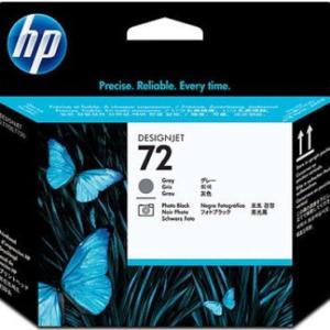 HP Cabezal de impresión 72 Negro y Gris Fotográfico C9380A