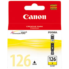 CANON Tinta CLI-126 Amarilla 4564B001
