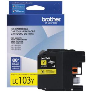 BROTHER Tinta Amarilla LC-103Y