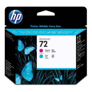 HP Cabezal de impresión 72 Magenta y Cyan C9383A