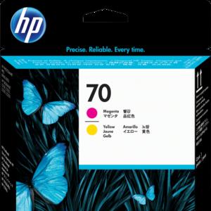 HP Cabezal de impresión 70 Magenta y Amarillo C9406A