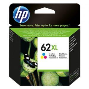 HP Tinta 62XL Tricolor C2P07AL