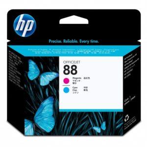 HP Cabezal de impresión 88 Magenta y Cyan C9382A