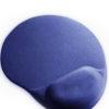 MicroLab Mouse Pad Gel Blue Ergonomic