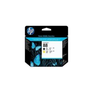 HP Cabezal de impresión 88 Negro y Amarillo C9381A