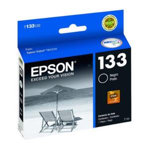 Epson Tinta 133 Negra T133120-AL