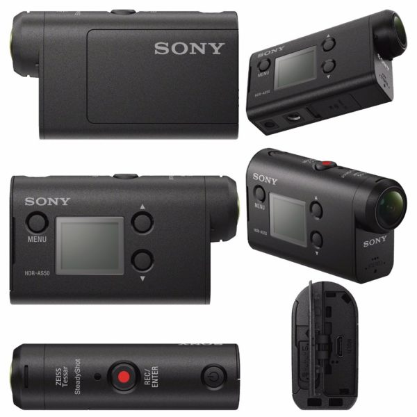 Sony Camara de Video Action Cam HDR-AS50