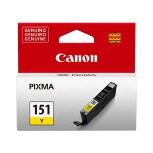 CANON Tinta CLI 151 Amarilla 6531B001