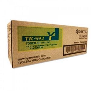 Kyocera Toner amarillo TK-592Y