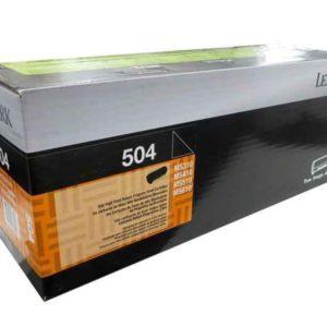 Lexmark Toner 504 Negro 50F4000