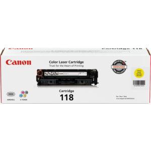 CANON Toner 118 Amarillo 2659B001