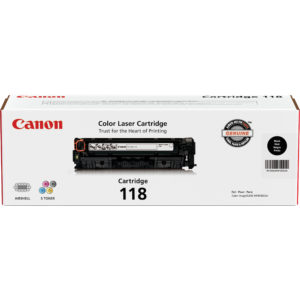 CANON Toner 118 Negro 2662B001