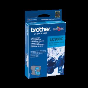 BROTHER Tinta Cyan LC-980C
