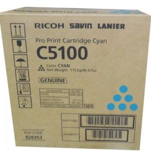 Ricoh Toner C5100 Cyan 828353