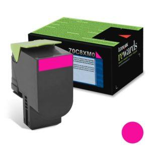 Lexmark Toner 708XM Magenta Alto Rendimiento 70C8XM0