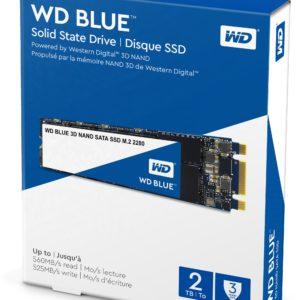Western Digital Disco SSD 2TB Blue 3D NAND, M.2 2280 WDS200T2B0B