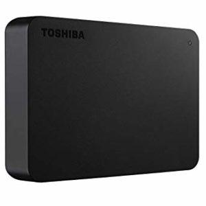 TOSHIBA Disco Duro Externo Canvio Basics Negro 4TB HDTB440XK3CA