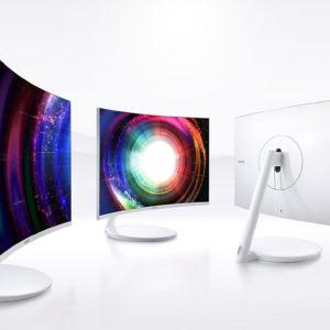Samsung Monitor LC27H711QELXZS Curved de 27 Pulgadas