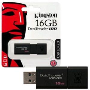 Kingston Pendrive DataTraveler 100 G3 DT100G3 16GB
