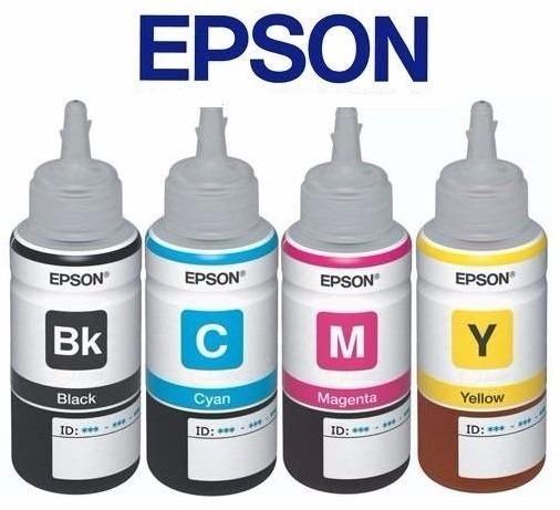 Epson Botella Tinta Juego T664120 T664220 T664320 T664420