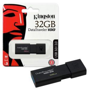 Kingston Pendrive DataTraveler 100 G3 DT100G3 32GB