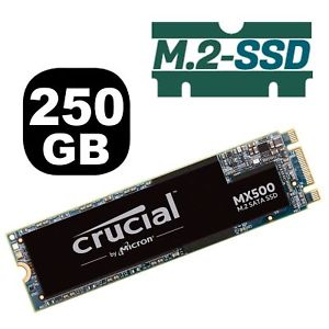 Crucial Disco SSD 250GB MX500 M.2 2280 CT250MX500SSD4
