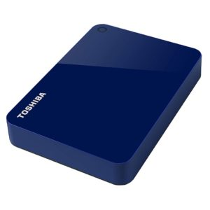 TOSHIBA Disco Duro Externo Canvio Advance Azul V9 3TB HDTC930XL3CA
