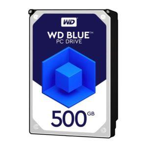 "Western Digital Disco Duro Interno Computador 500GB 3.5"" Blue WD5000AZLX"