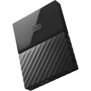 Western Digital Disco Duro Externo 1TB My Passport Negro WDBYNN0010BBK-WESN