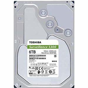 "Toshiba Disco Duro Interno Computador 6TB 3.5"" S300 HDWT360UZSVA"