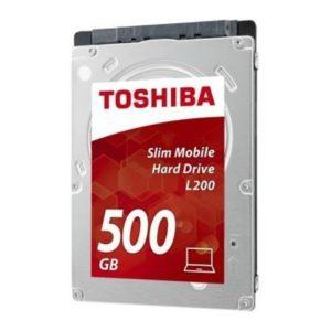 "Toshiba Disco Duro Interno Notebook 500GB 2.5"" L200 HDWK105UZSVA"