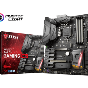 MSI Placa Madre Intel Z370 Gaming M5 (Compatible solo 8va Gen)