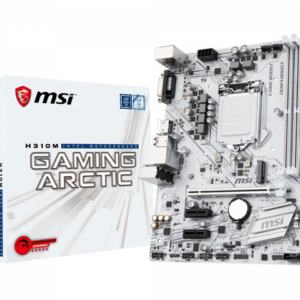 MSI Placa Madre Intel H310M Gaming Withe (1151)