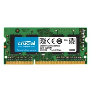 Crucial Memoria Ram DDR3 16GB 1600Mhz Notebook CT204864BF160B