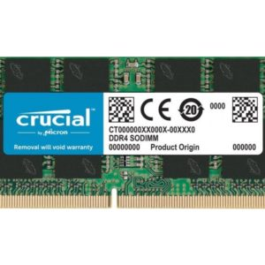 Crucial Memoria Ram DDR4 8GB 2666 mhz Notebook CT8G4SFS8266