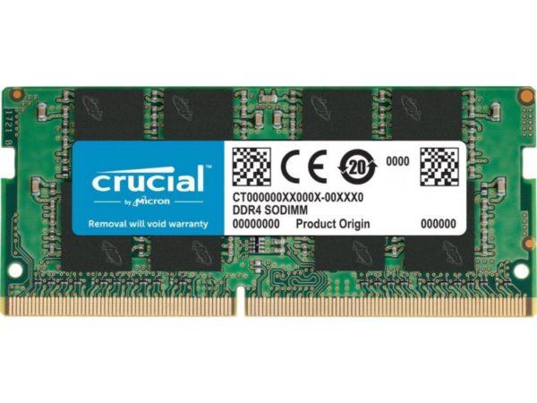 Crucial Memoria Ram DDR4 8GB 2666 mhz Notebook CT8G4SFS8266