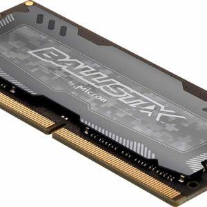 Crucial Memoria Ram DDR4 16GB 2666Mhz Ballistix Sport Notebook BLS16G4S26BFSD