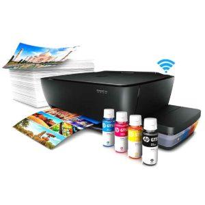 HP Impresora Ink Tank Wireless 415 Z4B53A + Tintas Negra y Colores