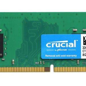 Crucial Memoria Ram DDR3 8GB 2400MHz PC/server CT8G4DFD824A