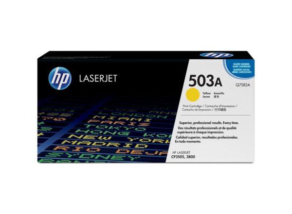 HP Toner LaserJet 503A Amarillo Q7582A