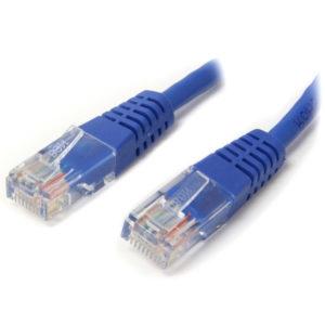 StarTech Cable de Red 0,9 m Azul M45PATCH3BL