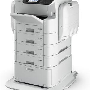 EPSON Impresora Multifuncional WorkForce Pro WF-C869R a Color en Red C11CF34201