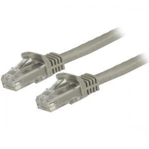 StarTech Cable de Red 15cm Gris N6PATCH6INGR